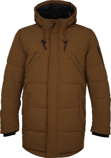 Cast Iron Brawler Parka Jack Brown