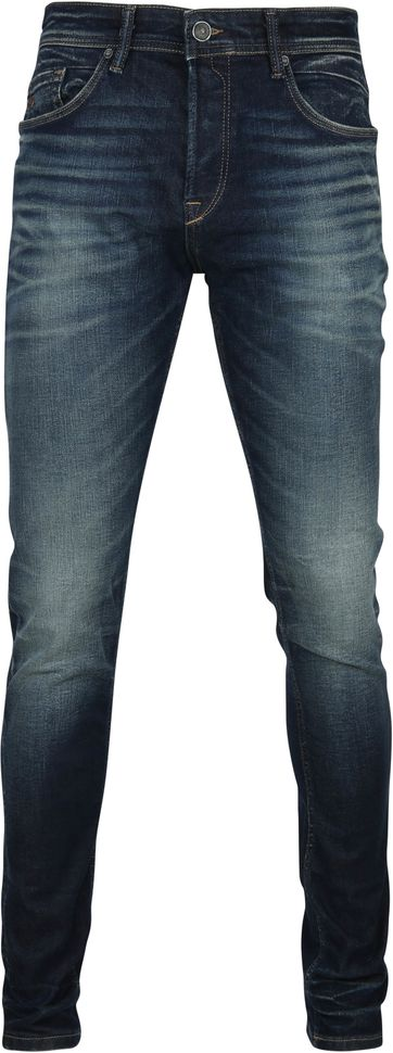 Cast Iron Korbin Jeans Washed Dunkelblau