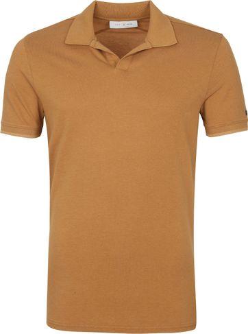 Cast Iron Polo Shirt Brown