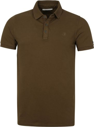 Cast Iron Polo Shirt Dunkel Grun