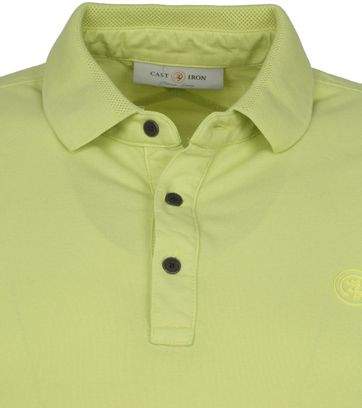 Cast Iron Polo Shirt Groen