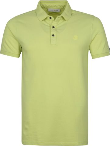 Cast Iron Polo Shirt Grun