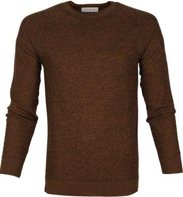 Cast Iron R-Neck Sweater Brown
