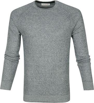 Cast Iron R-Neck Sweater Grey