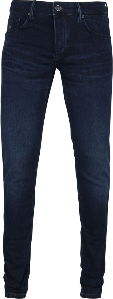 Cast Iron Riser Jeans Light-Washed Navy