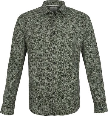 Cast Iron Shirt Brushstrokes Green