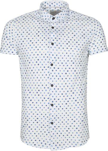 Cast Iron Shirt Short Sleeve Digital Print White