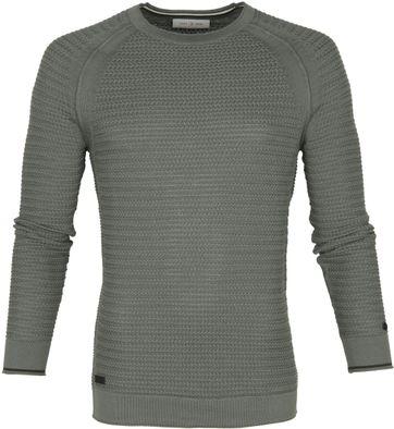 Cast Iron Sweater Green