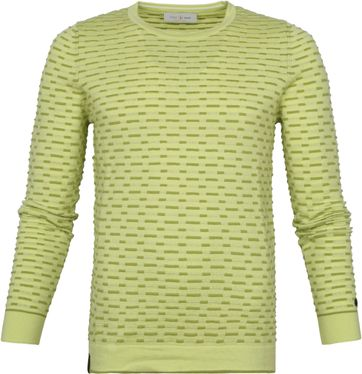 Cast Iron Sweater Melange Green