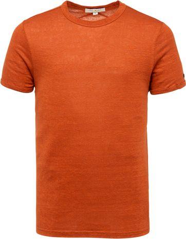 Cast Iron T Shirt Leinen Braun Ziegelstein