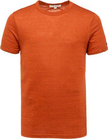 Cast Iron T Shirt Linen Brown Brick