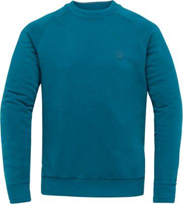 Cast Iron Terry Sweater Blau