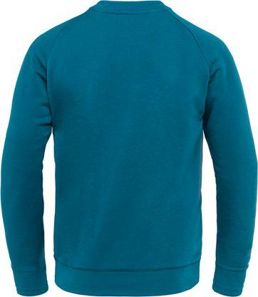 Cast Iron Terry Sweater Blue