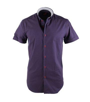 Casual Hemd S3-3 Violett Rot