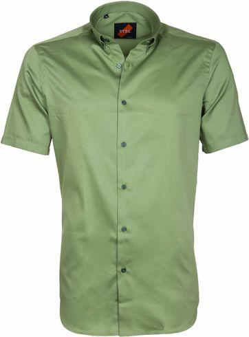 Casual Overhemd Basic Groen