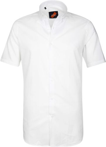 Casual Overhemd Basic Wit