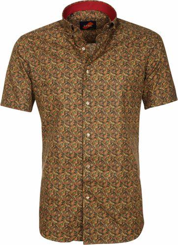 Casual Overhemd Paisley Groen