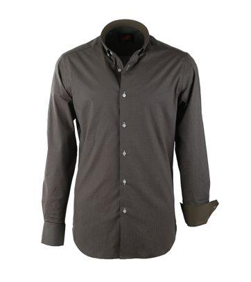 Casual Overhemd S2-6 Groen