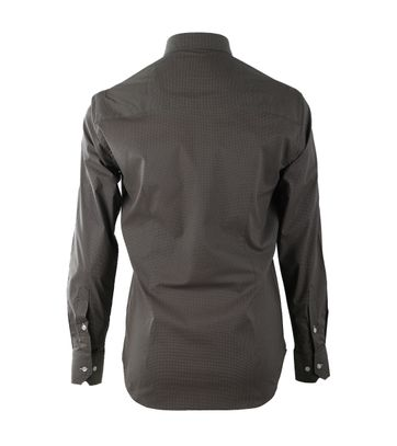 Detail Casual Overhemd S2-6 Groen