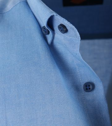 Detail Casual Overhemd S3-2 Blauw