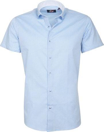 Casual Overhemd S5-2 Blauw