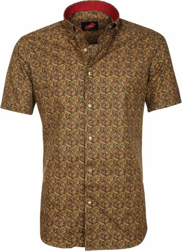 Casual Shirt Paisley Green