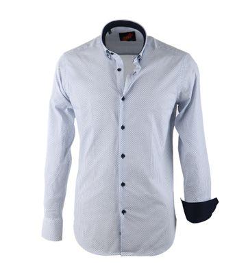 Casual Shirt S2-8 White Print