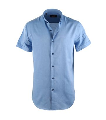 Casual Shirt S3-2 Blue