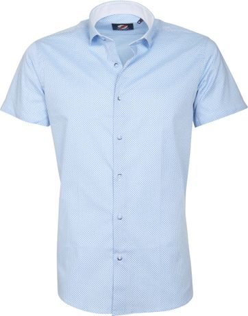 Casual Shirt S5-2 Blue