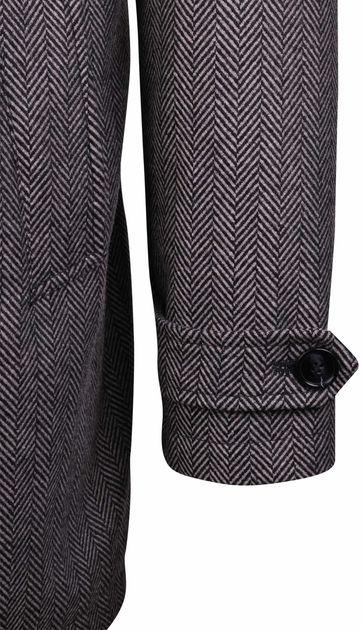 Coat Anthony Herringbone Grijs