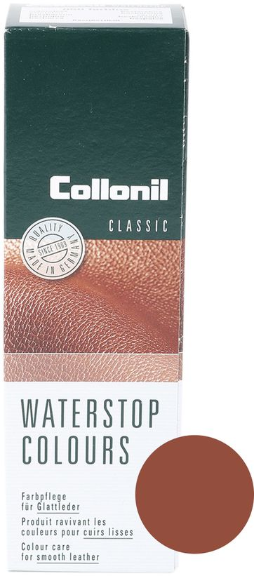 Collonil Waterstop Glattleder Pflegecreme Hellbrown