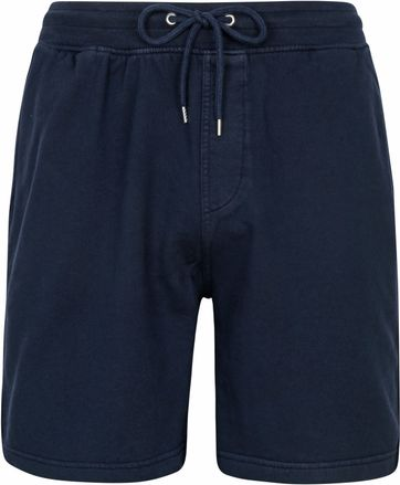 Colorful Standard Classic Sweat Shorts Donkerblauw