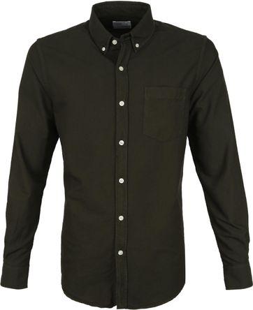 Colorful Standard Hemd Donkergroen