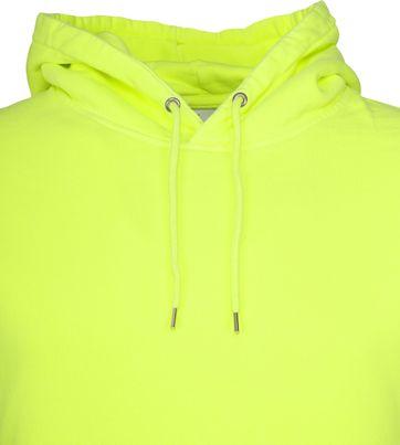 Colorful Standard Hoodie Neon Geel
