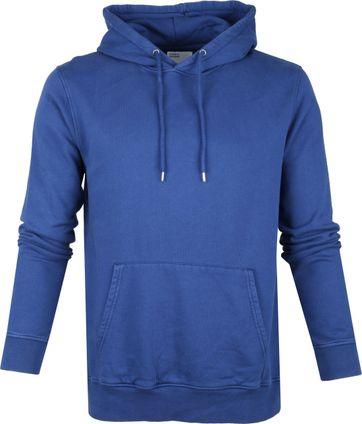 Colorful Standard Organic Hoodie Blau