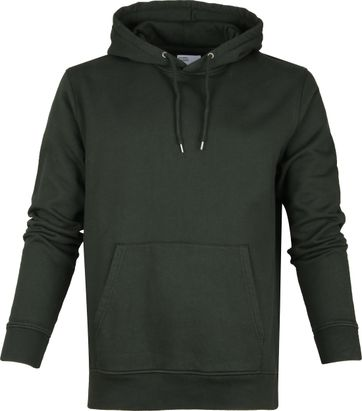 Colorful Standard Organic Hoodie Dark Green