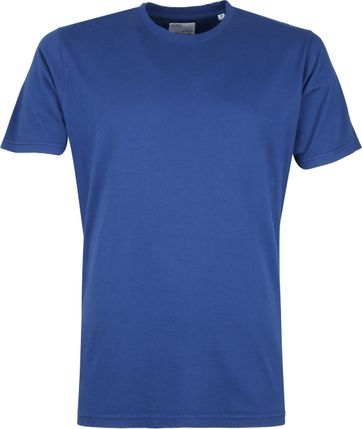 Colorful Standard Organic T-shirt Blauw