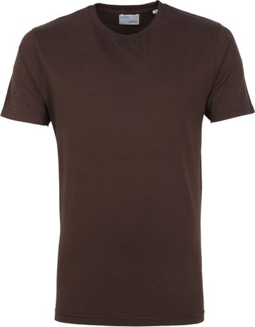 Colorful Standard Organic T-shirt Brown