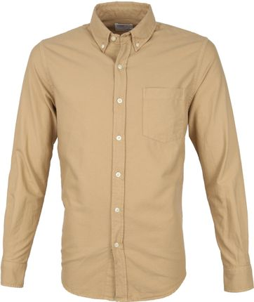 Colorful Standard Overhemd Khaki