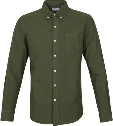 Colorful Standard Shirt Seaweed Green