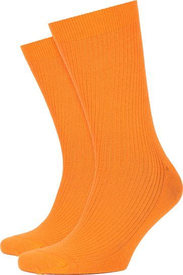Colorful Standard Socken Sunny Orange