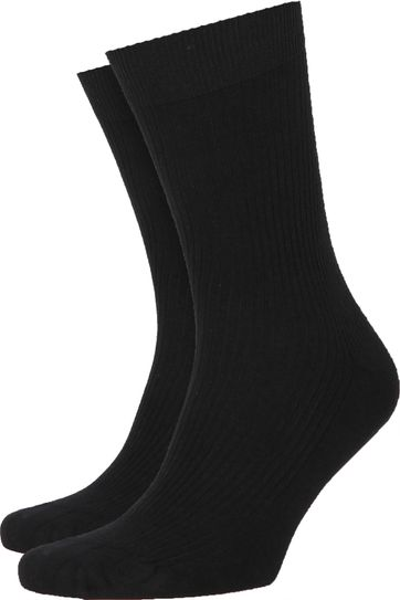 Colorful Standard Socks Deep Black