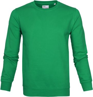 Colorful Standard Sweater Kelly Green
