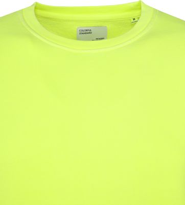 Colorful Standard Sweater Neon Geel