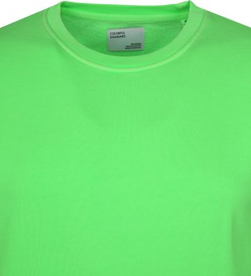 Colorful Standard Sweater Neon Green