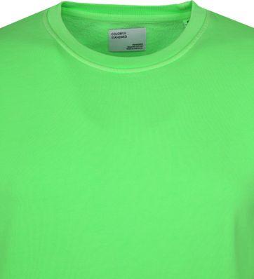 Colorful Standard Sweater Neon Grun