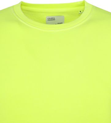 Colorful Standard Sweater Neon Yellow