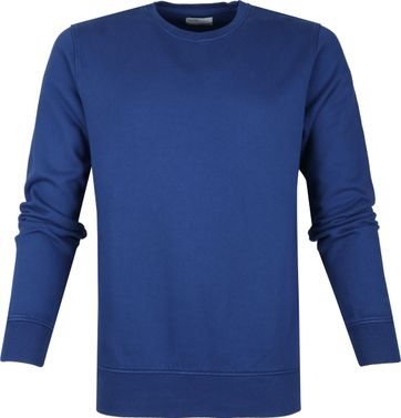 Colorful Standard Sweater Organic Blauw