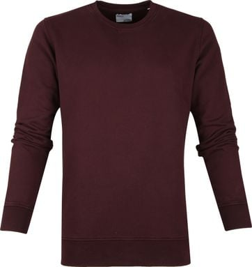 Colorful Standard Sweater Organic Bordeaux