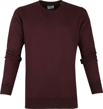 Colorful Standard Sweater Organic Burgunder